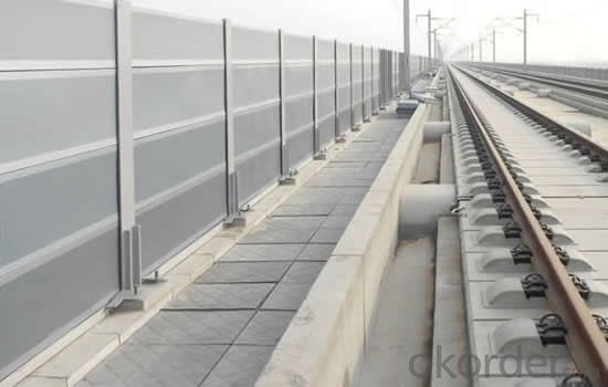 Aluminum foam Sound Barrier for highway
