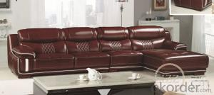 Leather sofa model-21