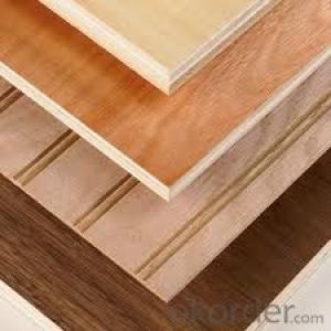 Veneer Faced Plywood Melamine Faced Plywood