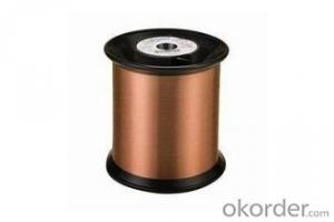 Class 130 nylon/polyester enameled round copper wire