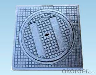 Manhole Cover with Square Base Made in China