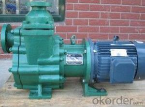 Magnetic Drive Self-Priming Pump