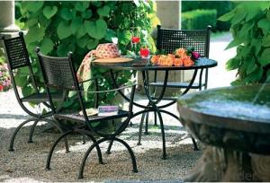 Aluminum Metal Outdoor Chair Table Set