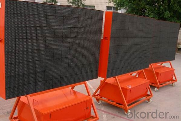 P7.62 Outdoor Red Color LED Display CMAX-P7.62