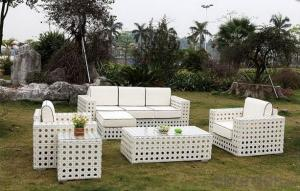 White Wicker Furniture Garden Chair