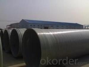 Glass steel water supply pipeline