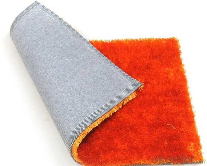 Hot selling polyester shaggy rugs for living