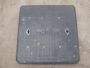 Manhole Cover Ductile Iron B125 EN124 Square