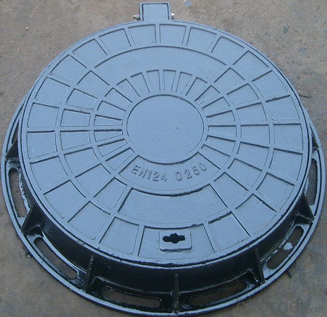 Manhole Cover Epoxy Coating Ductile Iron EN124 D400