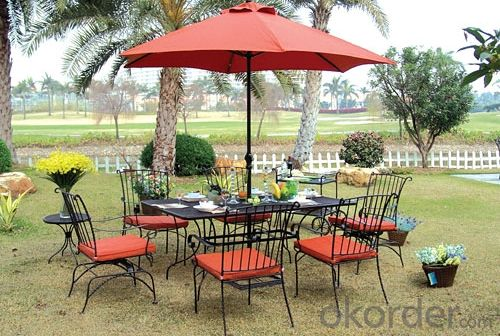 Aluminum Metal Outdoor Furniture Set