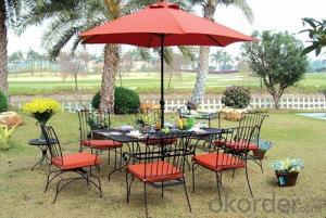 Aluminum Metal Outdoor Furniture Set