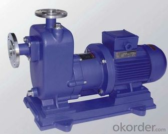 ZCQ Self-Priming Magnetic Leakless Seal Chemical&Dosing Pump