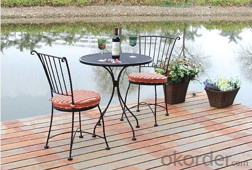 Aluminum Frame Outdoor Garden Table Chair Set