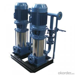 SBW Vertical Multistage Boost Pump System