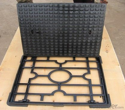 Manhole Cover Ductile Cast Iron C250 Square