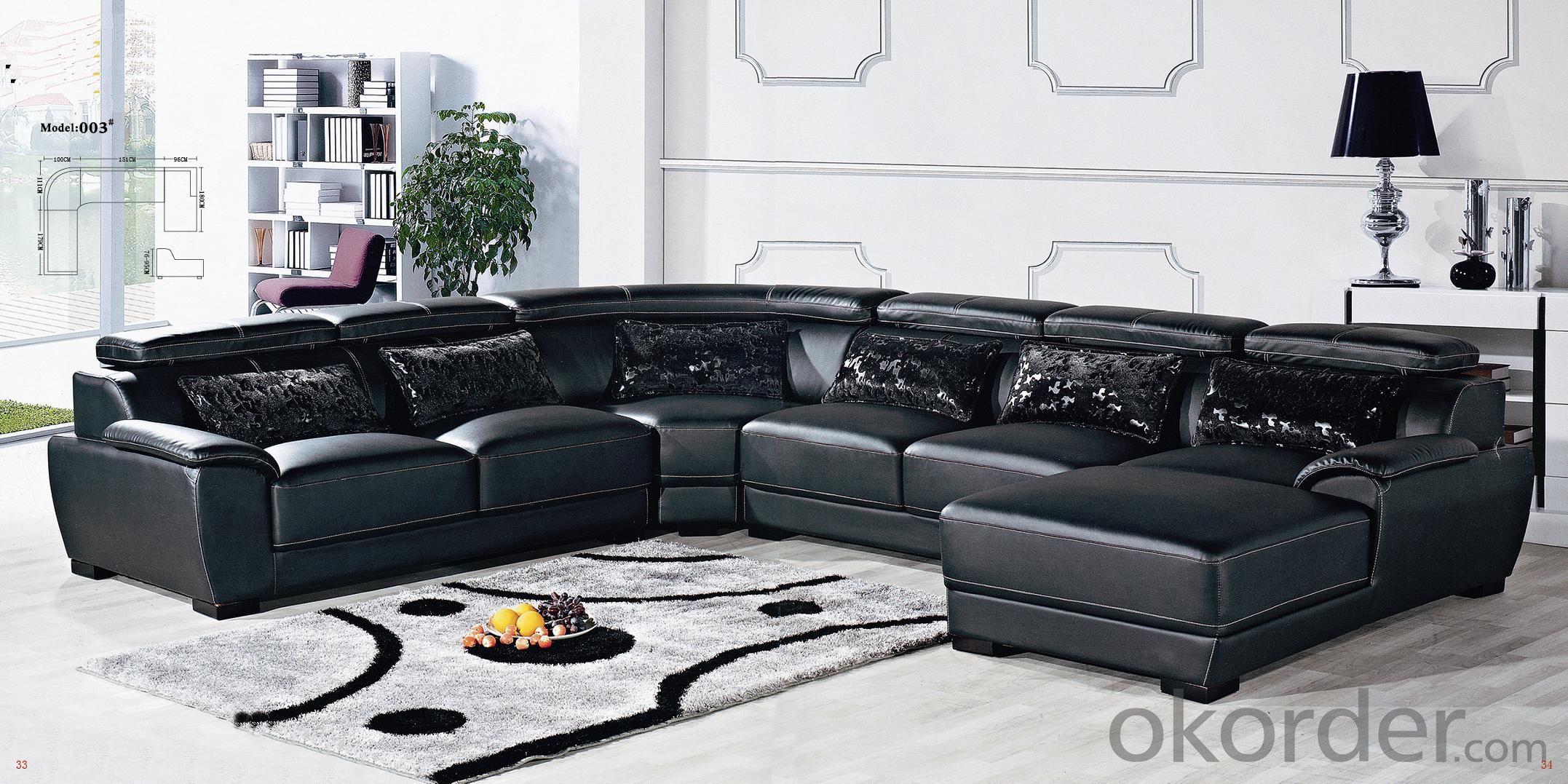 Leather sofa model-13