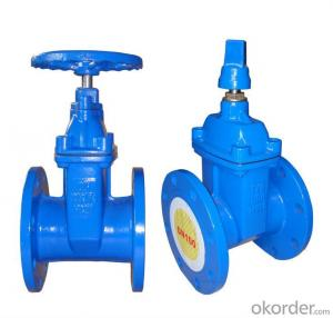 DUCTILE IRON  DIN/BS/ISO GATE VALVES 2''-12''
