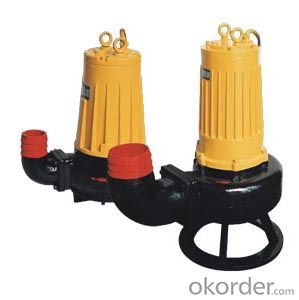 Splitting Sewage Pump for Hard Solid and Fiber