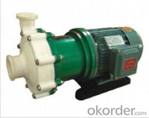CQB Flange Fluoroplastic Alloy Chemical Pump