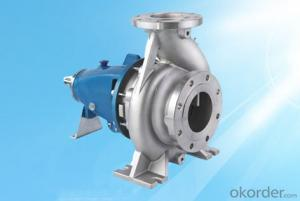 End Suction Chemical Centrifugal Pump XAH Series