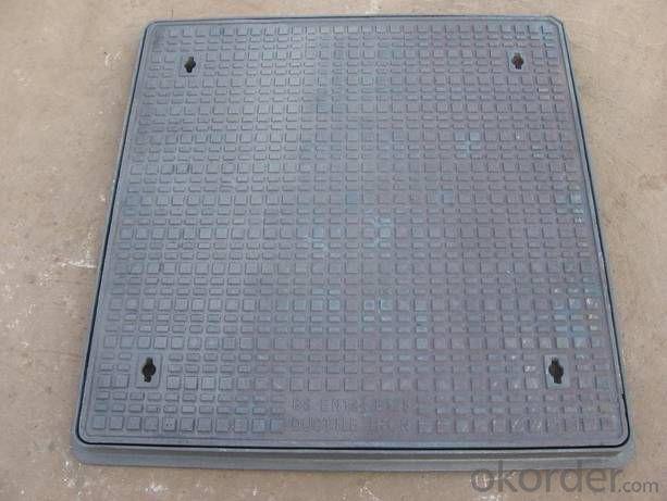 Manhole Cover Ductile Iron C250 Square on Sale