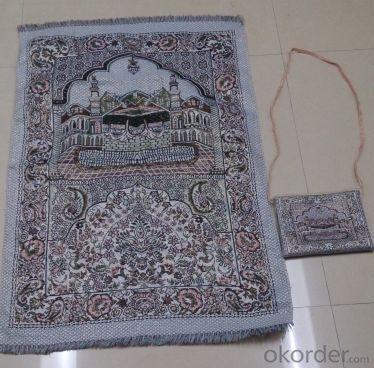 Hot Sale Pocket Prayer Mat With Compass