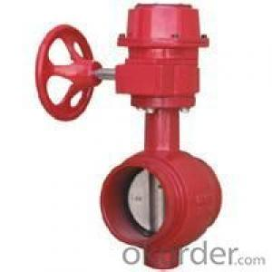 butterfly valve medium water