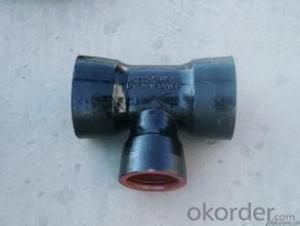 DUCTILE IRON PIPES K8 DN100