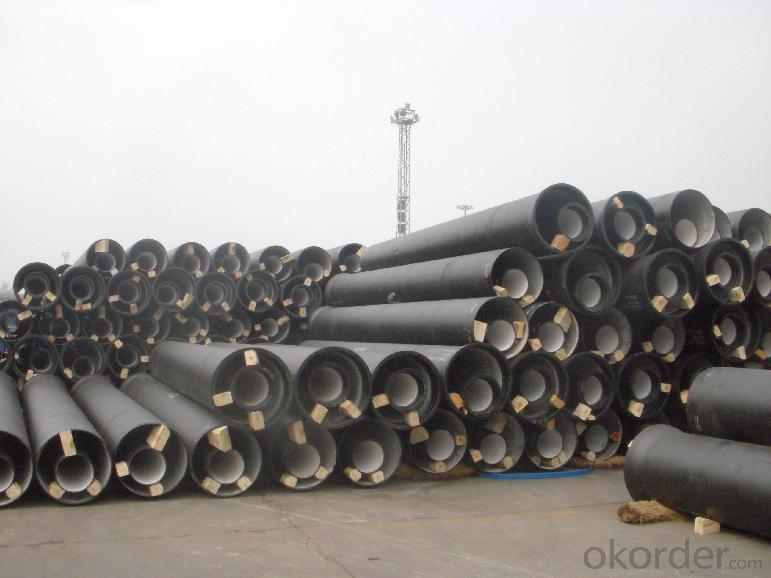 DUCTILE IRON PIPES K8 DN125
