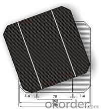 High energy conversion efficiency Monocrystalline Silicon Solar Cells with Low Price