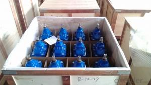 Ductile iron BS5163 gate valve 2''