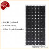 Panel Solar Mono PV 305W con Certificado TUV
