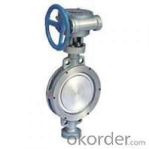 butterfly valve Triple-offset design