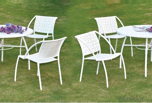 Outdoor White Garden Chair