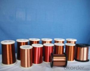 Class 130 polyester enameled round copper wire