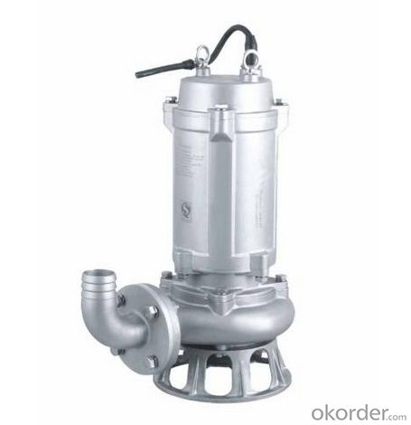 Vertical centrifugal sewage pump system