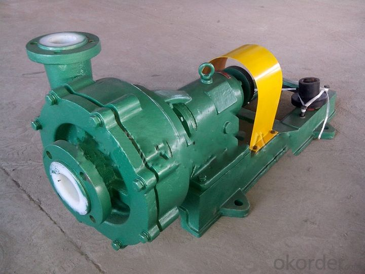 Corrosion Wear Slurry Pump