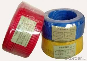 solid copper conductor PVC electrical cables wire