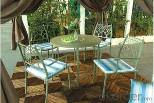 Aluminum Metal Garden Chair