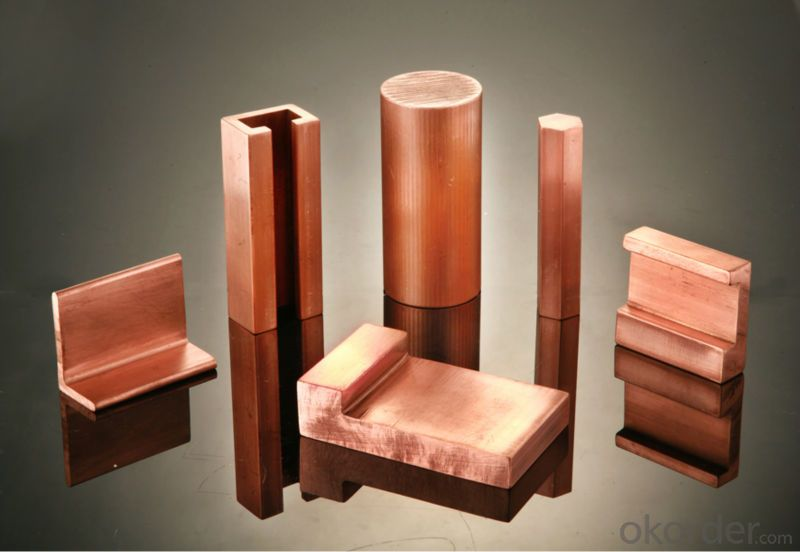 Copper busbars