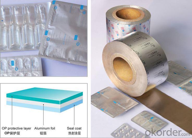 Aluminum Foil for Medicine / Pharma Packaging
