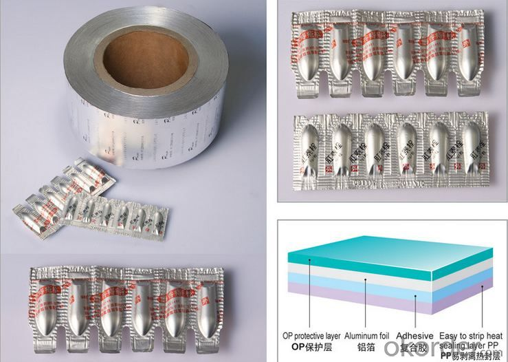 Aluminum Foil for Pharmaceutical Packaging