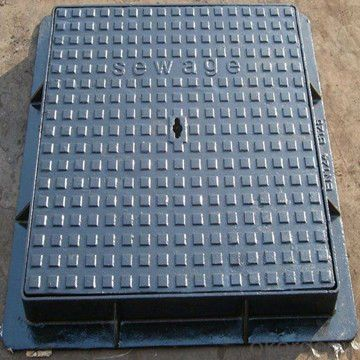 Manhole Cover Cast Iron D400 600mm for Sewerage
