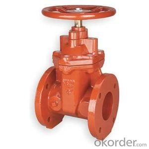 CNBM DUCTILE IRON PIPE DN80-DN1000 GATE VALVE