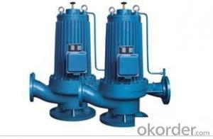 GP-pipeline Canned Motor Pump for Hot or Cold Water Recirculating