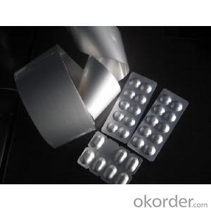 Popular Cold Forming Aluminium Foil OPA 25MICRONS/AL47 MICRONS/PVC 60MICRONS