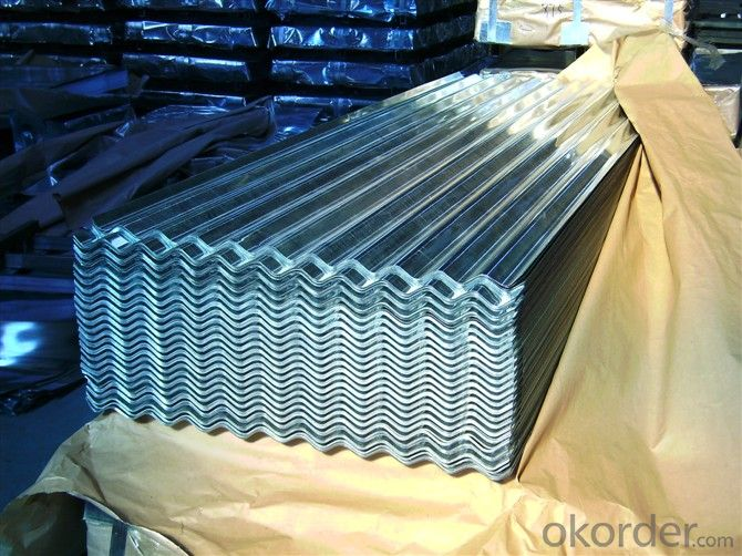 Hot-dip Zinc Coating Steel Building Roof Sheets Prime Quality