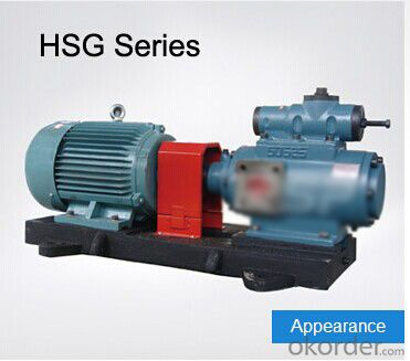 HSG Series Three-screw Pump