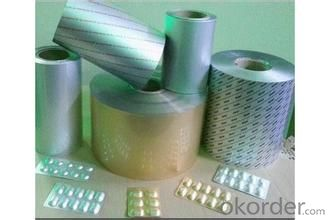 PTP blister foil for drug packing of high quality