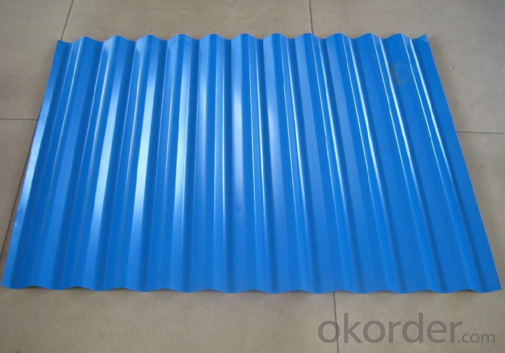 Coated Courraged Steel Sheet,Blue Color Prime Quality